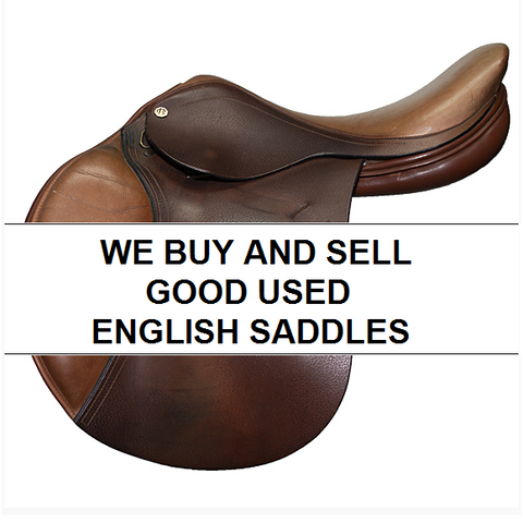 We Buy and Sell Good Used English Saddles