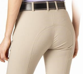 "Tuscany ""Gold Woven"" Silicon Knee Patch Breeches-May Sale"