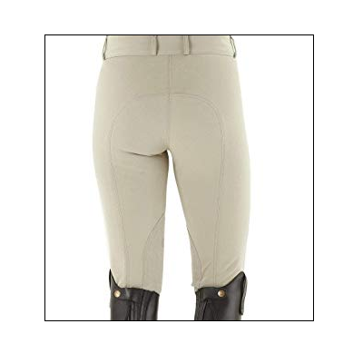 Equigear Ladies Knee Patch Breeches – Tan/Size 32 - Last Call