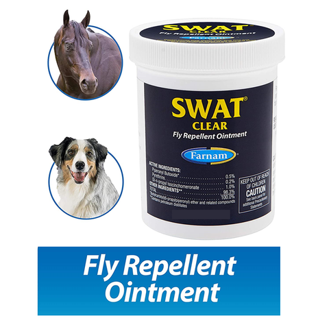 Farnam Swat Clear Formula Fly Repellent Cream – 198 gm