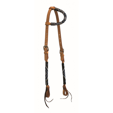 Sierra Beaded Headstall One Ear