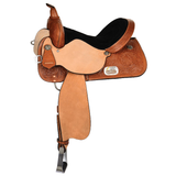 Proven Barrel Western Saddle By Circle Y 15""
