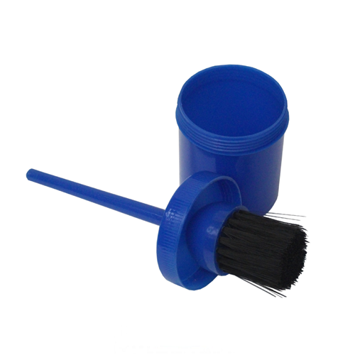 Hoof Oil Container with Brush