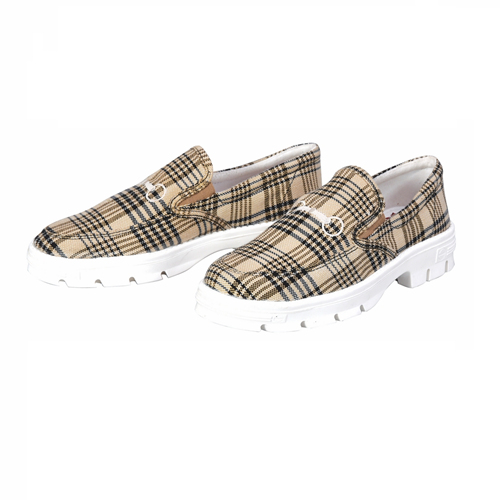 Baker Plaid Ladies Sneakers