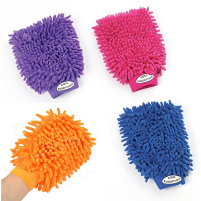 Magic Wash Microfiber Mitts