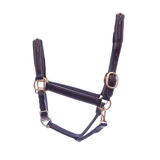 Tech II Padded Leather Halter Fancy  Stitched