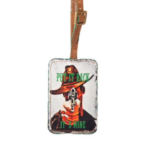 "Phunky Horse Luggage Tag ""Put it back"""
