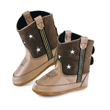 "Old West ""Poppets"" Infant Cowboy Boots – Star"