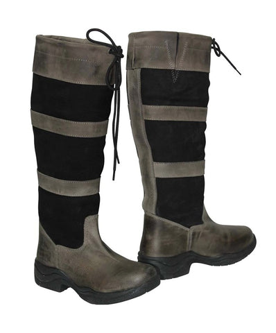 Ladies Silverline Country Boots-Size 5, 5.5-Last Call