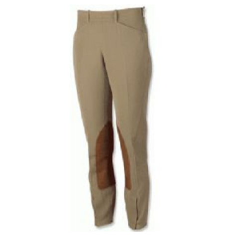 The Tailored Sportsman™ Girls' TS Side Zip Breeches - Kids size 20R
