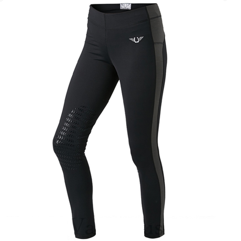 TuffRider Ladies' Ventilated Knee patch Schooling Tights