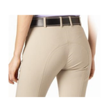 "Tuscany Premium ""Pearl"" Knee Patch Beige Breeches – LONG - FREE BELT*"