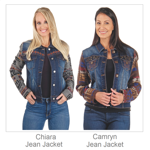 Venario Ladies Jean Jacket