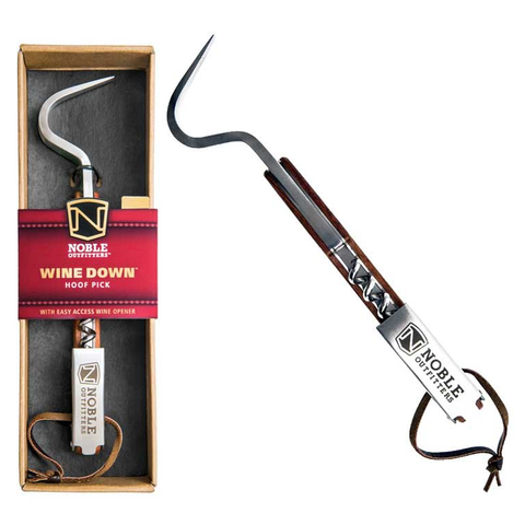 Wine Down Hoof Pick