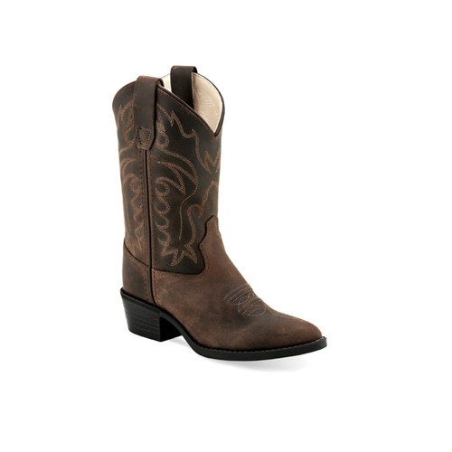 Old West Youth Cowboy Boots #CCY8112G