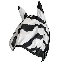 "Bucas ""Buzz-Off"" Zebra Fly Mask"