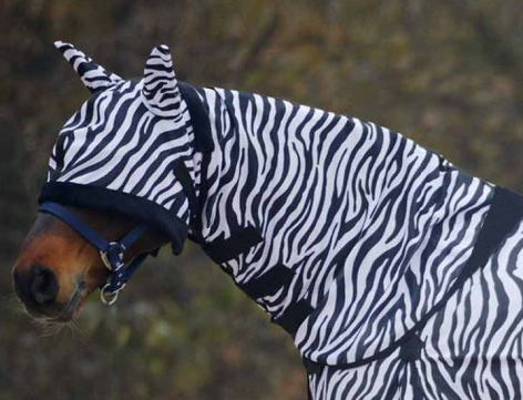 Waldhausen Zebra Neck Cover for Fly Sheet