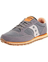 Saucony Originals Sneaker Charcoal Orange