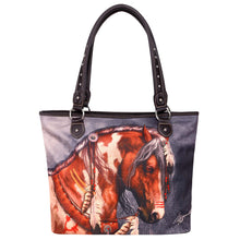 War Pony Canvas Tote