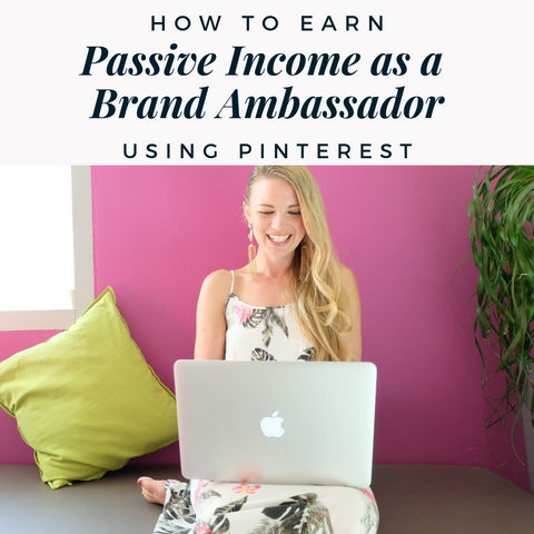 How one brand ambassador earns thousands of dollars a month on pinterest
