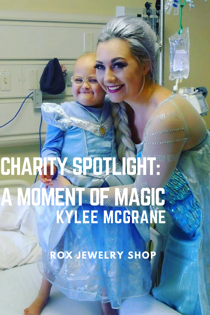 Take a peek into the life of Kylee McGrane and how she has made fictional fairytale characters become real life for ailing children all over the globe.
