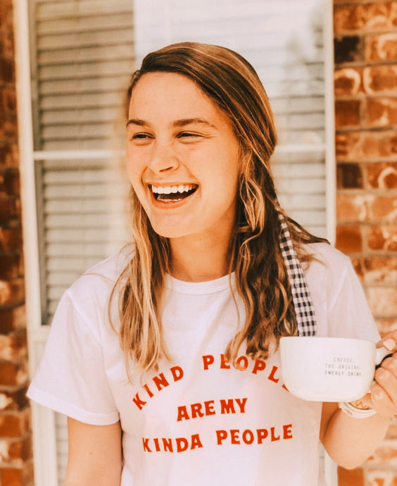 Kind People Are My Kind of People Shirt that Gives Back to Charity by ROX  –  Purely Positive collection Trendy and Affordable apparel that Gives Back – Austin, Texas