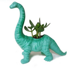Brachiosaurus Dinosaur Succulent Plant Holder – Quirky Home Decor that Gives Back to Charity by ROX great gifts under $20