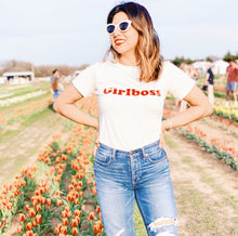 Girlboss shirt that gives back to charity from ROX Jewelry's Empowering Women Collection Girl Boss Shirt