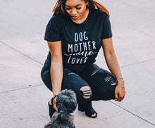 Dog Mother Wine Lover Shirt – Gift Ideas – Gift Ideas Under $25 that give back this holiday season – Dog and wine themed shirt gift ideas for girlfriend – Casual Outfit Ideas