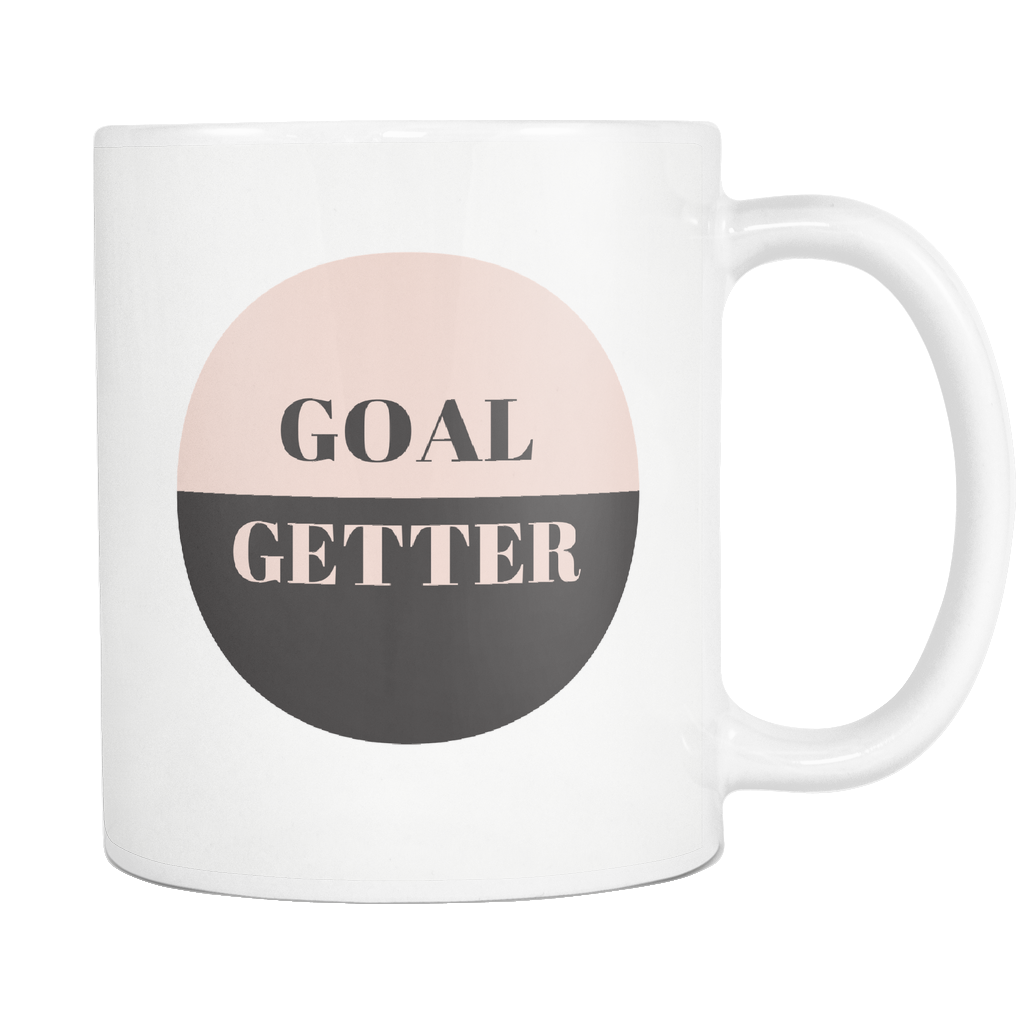 ROX Jewelry Shop - Goal Getter Lady Boss Empowering women multiple color fashion mug giving back to charity women supporting women positive mug