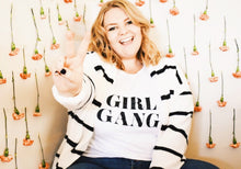Girl Gang Shirt that Gives Back to Charity from ROX Jewelry's Empowering women Collection Great Gift Ideas under $25
