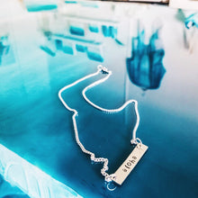 Custom Silver Bar Necklace – Great Gifts that Give Back to Charity Handmade Jewelry By ROX Jewelry Gifts Under $50