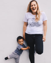 Be a Nice Human Shirt that Gives Back to Charity by ROX  – Purely Positive Collection Trendy and Affordable apparel that Gives Back – Austin, Texas