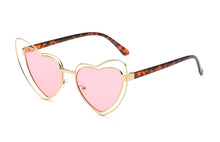 Brielle Heart Sunglasses – Heart Shape Sunglasses - Sunglasses for your face shape - sunglasses women 2020 trend - sunglasses that give back to charity - vintage sunglasses - aesthetic