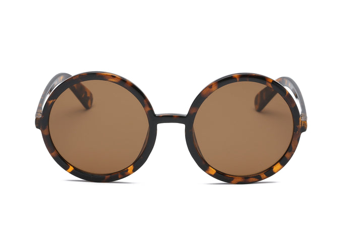 Kara Round Sunglasses – Tortoise Sunglasses - Sunglasses for your face shape - sunglasses women 2020 trend - sunglasses that give back to charity - vintage sunglasses - aesthetic