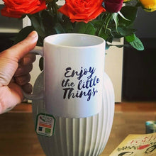 Enjoy the Little Things Coffee Mug that Gives Back to Charity by ROX, the gift that gives back