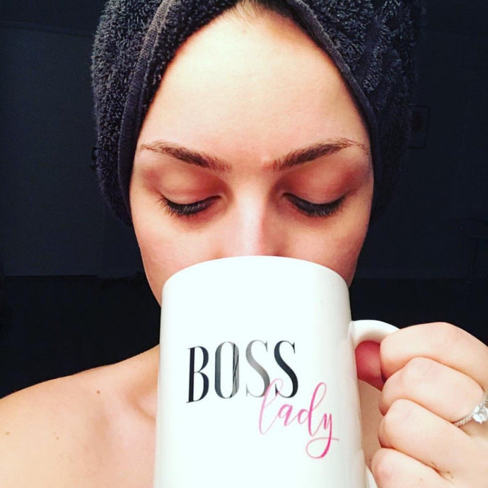 Boss Lady Mug that Gives Back to Charity by ROX Coffee Mugs and more that give back