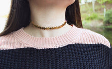 Kylee Gold Star Adjustable Choker that Gives Back to Charity Handmade in Austin Texas by ROX Jewelry Instagram