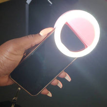 Selfie Ring Light that Gives Back to Charity by ROX Jewelry The gift that gives Back Non-Makeup gifts for makeup lovers