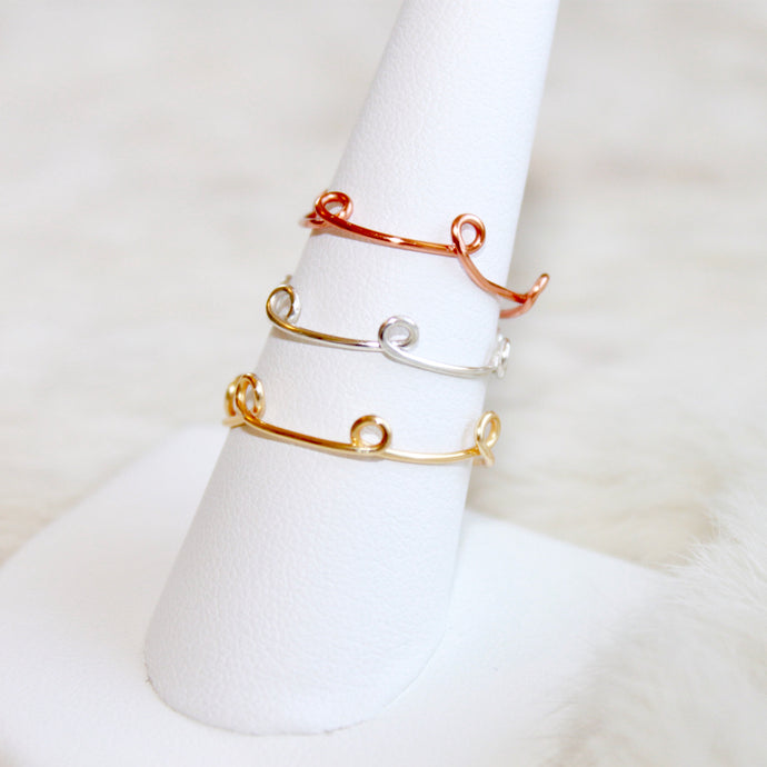 Lainey Ring (Multiple Colors)
