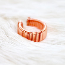Statement Rose Gold Ring with  that Gives Back to Charity by ROX Jewelry in Austin, Texas » Great Gift ideas for her under $50