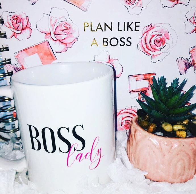 Boss Lady Coffee Mug that Donates to Charity – ROX Coffee Mugs – Great Gifts for Coffee Lovers Under $25 – The Gift That Gives Back™ – Empowering Women Collection