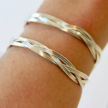 Silver Choker and Bracelet that Gives Back to Charity by ROX Jewelry in Austin, Texas » Great Gift ideas for her » Braided Jewelry that converts from necklace to bracelet