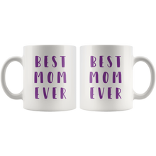Best Mom Ever Mug that gives back to charity from ROX Jewelry's Empowering Women Collection Mother's day mugs purple
