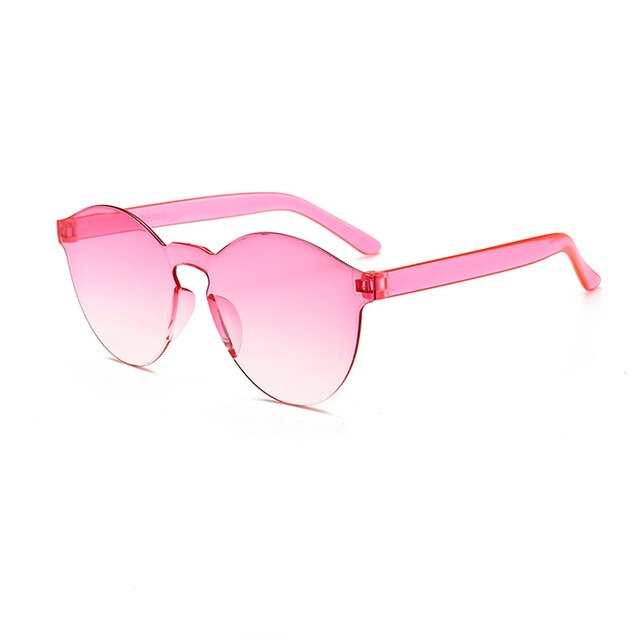 Mia Clear Frame Sunglasses in Light Pink Fade – Festival Sunglasses Ideas – Women Sunglasses under $30 – Sunglasses that Give Back to Charity by ROX Jewelry Shop – Gift Ideas for Her