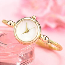 Dainty Gold Watch that Gives Back to Charity by ROX Jewelry in Austin, Texas » Great Gift ideas under $50