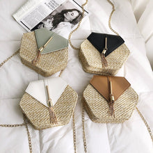 "Straw and Tassel ""Sunny Days"" Bag (Multiple Colors) – Straw Bag – Tassel Purse under $50 – Purses that Give Back to Charity by ROX Jewelry Shop – Affordable Gift Ideas for Her"