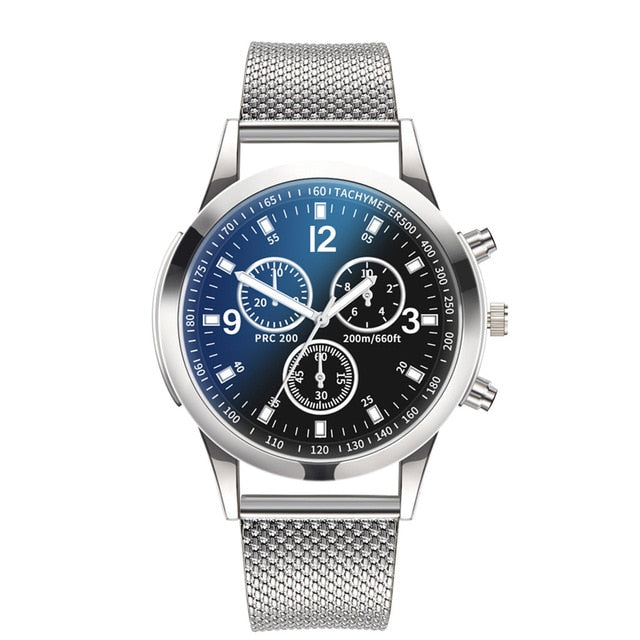 Classic Silver Metal Men's Watch that Gives Back to Charity by ROX Jewelry in Austin, Texas » Great Gift ideas for him under $40