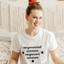 Empowered Women Empower Women Star Shirt (Multiple Color Options) that Gives Back to Charity – Feminist Gift – Gifts that Empower Women – ROX Apparel for Her Under $25 – the gift that gives back™