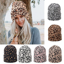 Leopard Print Beanie (Multiple Colors) – Leopard Print Accessories – Gifts that Give Back – ROX Winter Accessories for Her – Gift Ideas Under $30